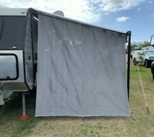 TRA Caravan Privacy Screen End Wall / Side Sun Shade Roll Out Awning Jayco Parts