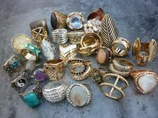 SZ 5-10 Wholesale Lots Jewelry New 30pcs Mixed Vintage Bohemia Punk Knuckle Ring