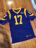 Robert Woods Los Angeles Rams Super Bowl LIII 53 Game Jersey NFL Nike