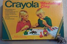 VINTAGE 1978 CRAYOLA MODELING CLAY SET NEVER USED ST#TB3