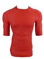 Adidas TechFit Climachill Funktionsshirt Compression Laufshirt rot Gr.M
