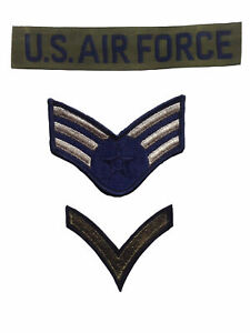 New USA Airforce Uniform Military Cloth Badge for Fancy Dress Fishtail Parka etc