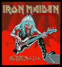 IRON MAIDEN fear of the dark live 2011 - WOVEN SEW ON PATCH official (sealed)