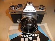 MACCHINA FOTOGRAFICA TOPCON IC-1 con Tokyo Kogaku 1:2 50mm obiettivo TOPCOR 18453... A9