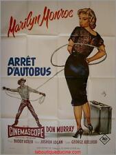 ARRET D'AUTOBUS Bus Stop Affiche Cinéma Movie Poster Marilyn Monroe