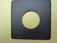 4x5 Pacemaker Crown Speed Graphic lens board, NEW, COPAL #1