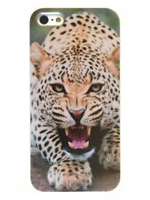 """IPHONE Shell 4/5 Or 5C """" Leopard """" Animal (Swag Case Cover Jaguar)"""