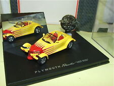 PLYMOUTH PROWLER Jaune & rouge UNIVERSAL HOBBIES