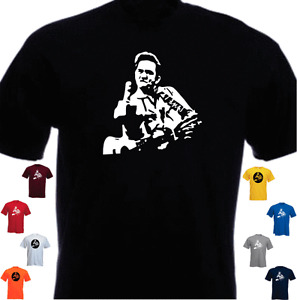 Johnny Cash Tribute New T-shirt Present Gift