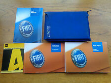Fiat Stilo Owners Handbook Manual and Pack 01-04