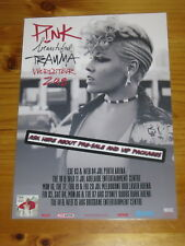 PINK - 2018 AUSTRALIA TOUR - Beautiful Trauma Tour - Laminated Promo Poster