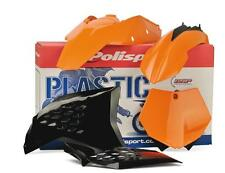 Polisport New Plastic Kit Set Orange KTM 125 250 300 380 400 520 EXC 2001–2002