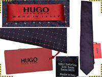 HUGO BOSS Cravatta Uomo 100% Seta Made in Italy  AL PREZZO DI SALDI  HB15 T0G