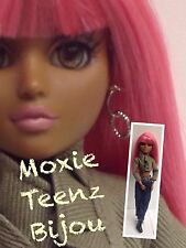 Moxie Teenz Doll - Bijou- Articulated Doll - W/ Lashes- Hot Pink Wig  /Redressed