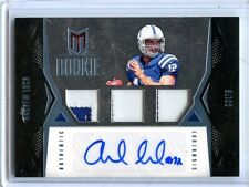 2012 PANINI MOMENTUM ANDREW LUCK TWO COLOR PATCH AUTO 23/25