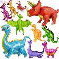 Dinosaur Foil Balloon Birthday Decor Party Supplies Kids Boys Baby Shower Toy