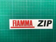 FIAMMA TENDA ZIP Adesivo Decalcomania Grafica Stampata Tenda da sole Safari Room