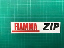 Fiamma ZIP  awning Sticker Decal Graphics printed awning safari room