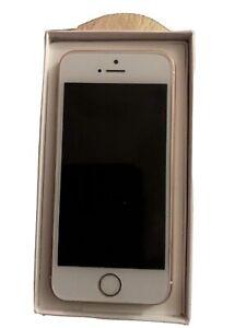 Apple iPhone SE - 128GB - Rose Gold (Unlocked) A1723 (CDMA + GSM)