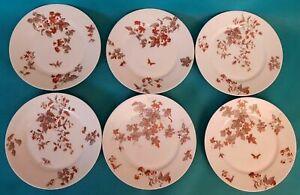 Six Dinner Plates Limoges Porcelain Ref 292830508331