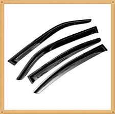 Out-Channel Smoked Window Vent Guard Rain Visors For 2006-2010 Dodge Charger