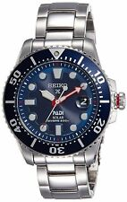 Seiko Prospex SNE435 Men's PADI Solar Stainless Steel Blue Dial 200M Dive Watch