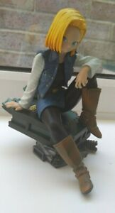Dragon ball figure Android 18, Rare figure from 2013 worth 70-80£