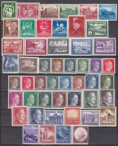 Nazi 3rd Reich 1941 COMPLETE YEAR SET MINT!!!