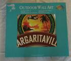 """Margaritaville Jimmy Buffett Outdoor Wall Art 28"""" W x 25"""" H PSSR18-MV-BB"""