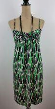 Diane von Furstenberg Candy Dress Spaghetti Straps Silk Summer Green Size 6