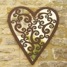 Heart Metal Wall-mounted Decorative Mirrors