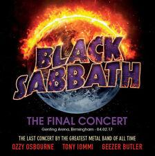 BLACK SABBATH Final Concert + Soundcheck 2-CD PRIEST IRON MAIDEN AC/DC OZZY