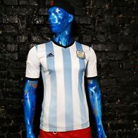 Argentina Team Jersey Home football shirt 2013 - 2014 Adidas G74569 Mens Size S