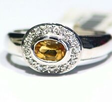 Designer 14K Gold Natural Diamond .23CT Anniversary Engagement Vintage Ring Deco