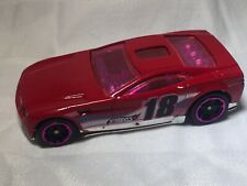 Mattel Hot Wheels 2004 'TORQUE SCREW' Made In Malaysia Fluoro Pink Accents