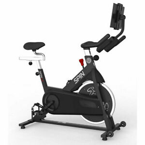 SPIN L3 Home Exercise Bike + Dual-Sided SPD Pedals + 1 Year Digital Subscription