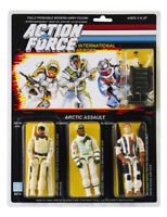 Action Force / GI Joe Snow Job, Blizzard, Iceberg Arctic Assault MOC Carded