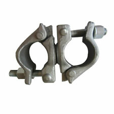 """lot of 8 forged galvanized 2"""" scaffold/Pipe swivel clamps"""