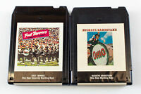 Ohio State Buckeyes Marching Band: Foot Tappers & Bandstand 8 Track Tapes