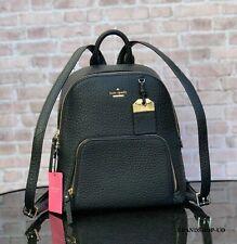 Kate Spade New York Caden Carter Leather Small Backpack Bag WKRU5838 Black