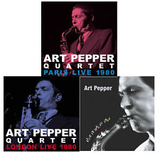 ART PEPPER-LOT OF 3 CD-JAPAN CD SET 210