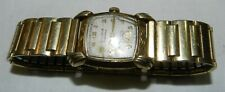 Vintage Men's Bulova Excellency Wind-Up Watch for parts or repair, 10K Gold Fill