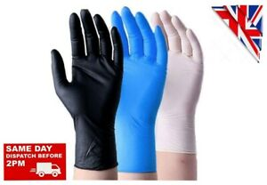 Nitrile  Protective Gloves Durable Latex Vinyl Gloves for Work Home Shopping Etc