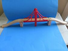 "Melissa & Doug ""Suspension Bridge, Ascending Track & Track Supports""; New"