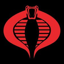 GI Joe Cobra Vinyl Banner Flag Sign Man Cave 90's Retro Vintage Cartoon Villains
