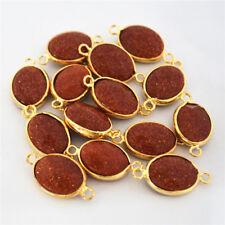 Ovale Modeschmuck-Halsketten & -Anhänger mit Opal-Hauptstein