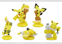 "Pokemon Mini Figure Set ""Palette Color Collection Yellow"" Japan"