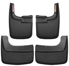 HUSKY Mud Guards Front &  Rear Flaps for 17-19 FORD F350 DUALLY DRW w/ NO Flares
