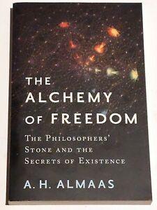 A H ALMAAS - The Alchemy Of Freedom - softback book