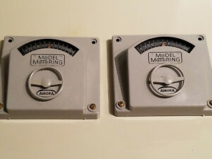 Aurora Model Motoring Speed Controls - Two - Steering Wheel type - Gray.